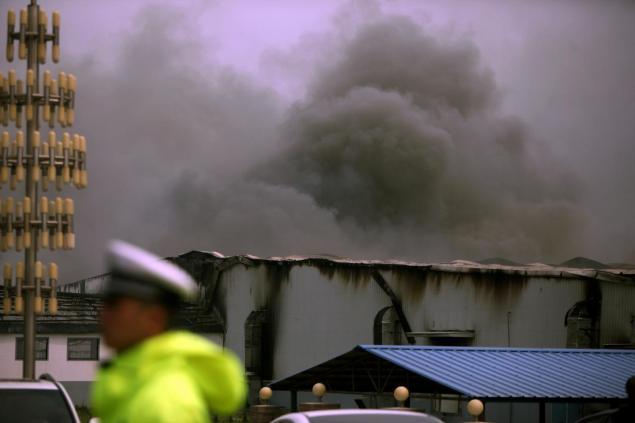 بزرگترین آتش سوزی دهه گذشته کشور چین