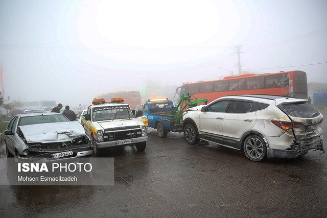 چهار تخلف عامل 80درصد تصادفات جاده ای در کشور