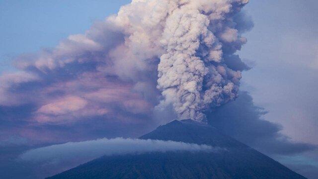 هشدار فوران آتشفشانی کوه هاکونه ژاپن