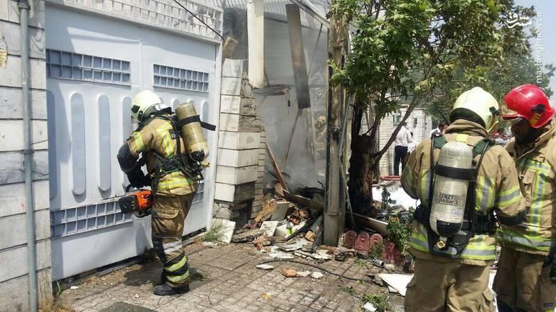 انفجار مرگبار تعمیرگاه خودرو درتهران